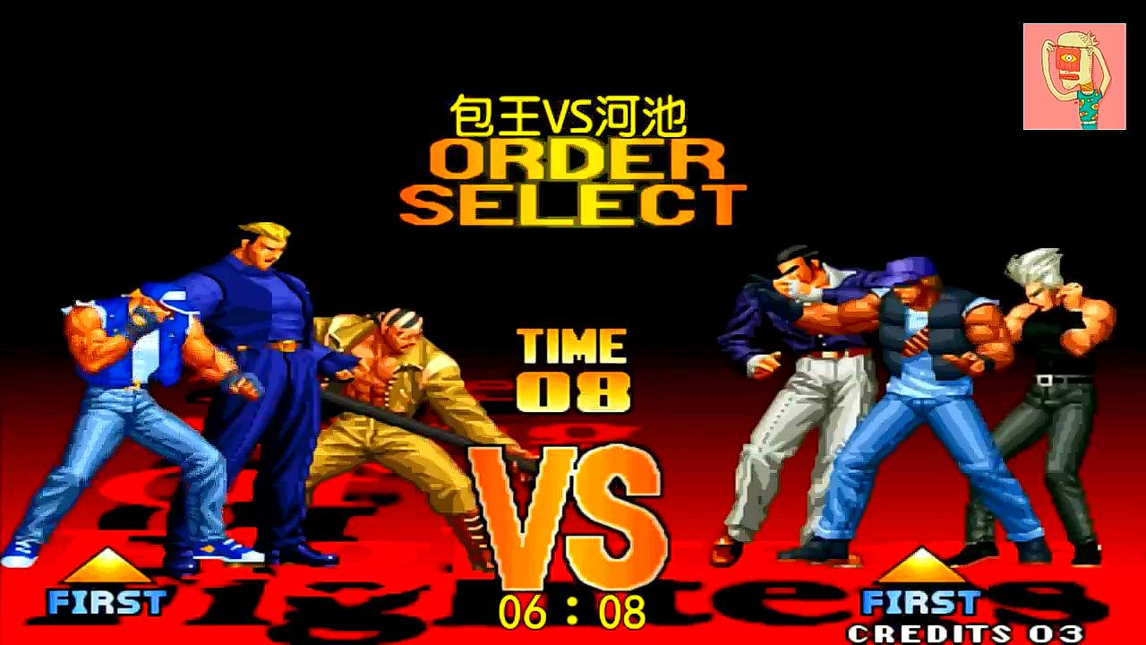拳皇97:龟呢半天没一点用啊,五弱比利再现神威力压克拉克!