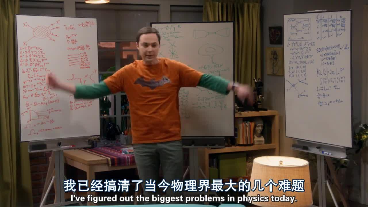 男子在家里研究物理,女友回来后,男子竟然说出这样的话