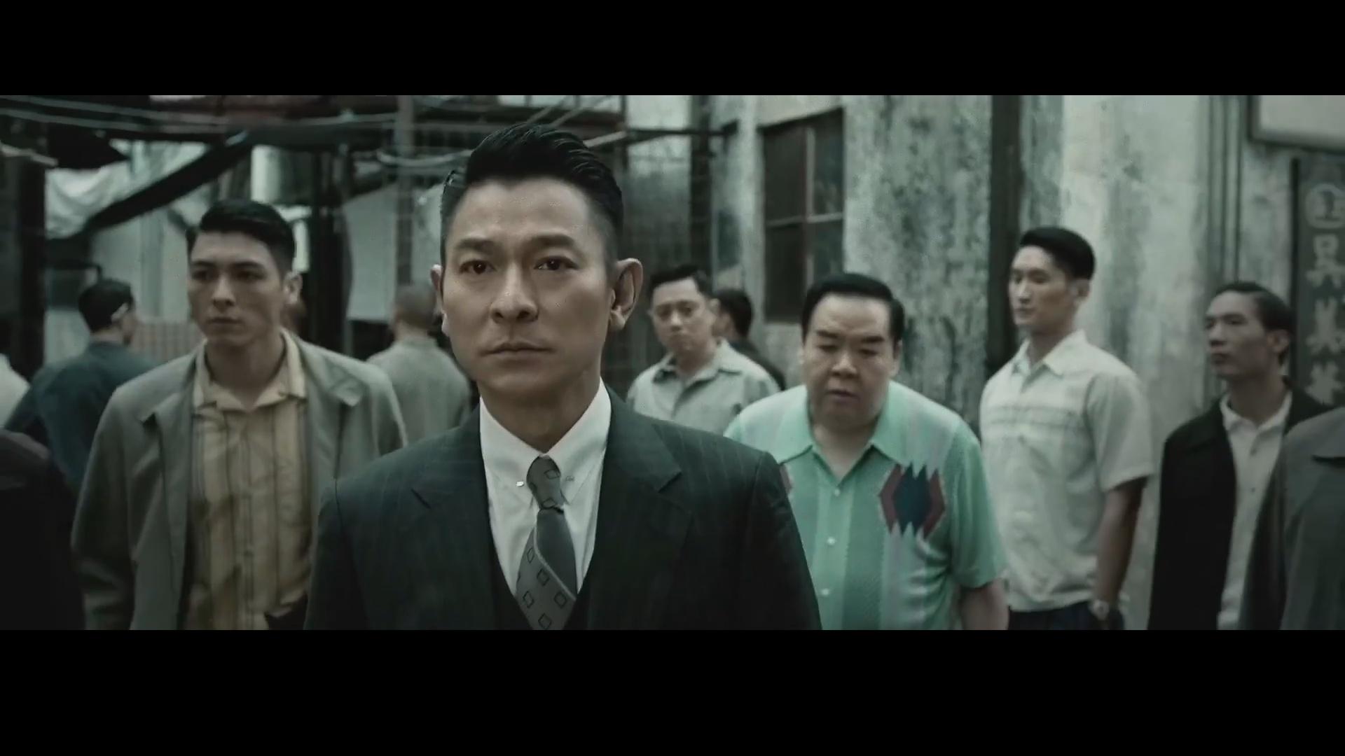 甄子丹刘德华组队耍狠,国庆档双手遮天《追龙》枭雄版预告片