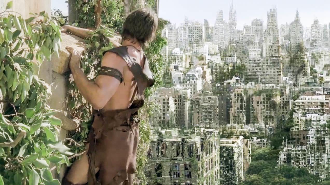 科技失控毁灭了人类文明,到处都是变异巨兽,幸存人类到处躲藏