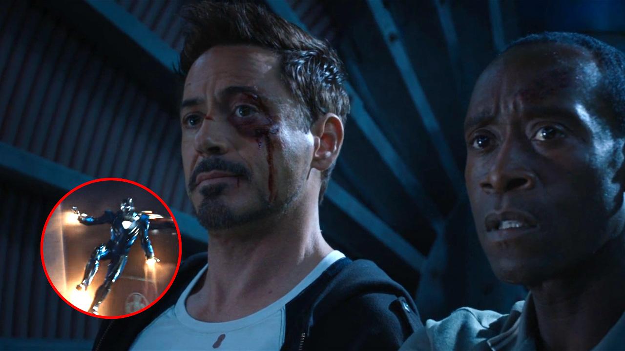 #电影最前线#钢铁侠的MK30战甲,电影只出现了短短的1秒钟,你找到了吗