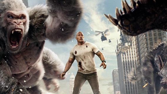 #这个视频666#《狂暴巨兽》:巨兽出击;城市危在旦夕;谁来解救?
