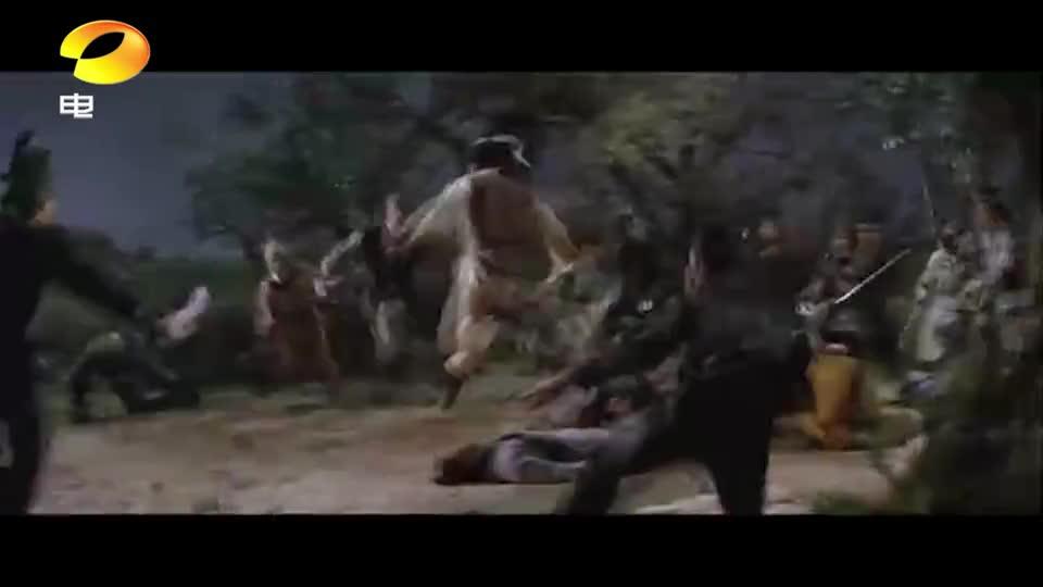 """#电影片段#东方的""""刺客信条""""男子一人打十个,丝毫不显弱势,帅"""