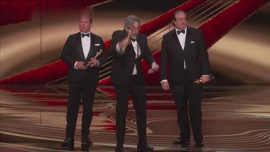 #娱乐#第91届奥斯卡 《绿皮书》获最佳原创剧本奖