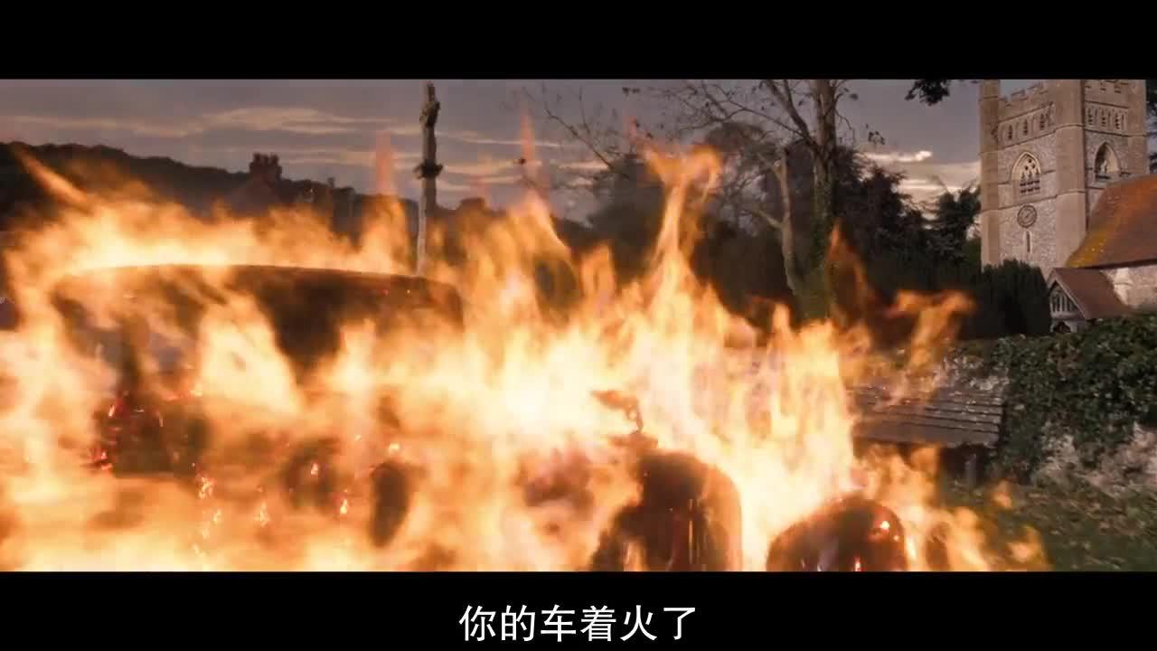 #经典看电影#恶魔开着烈焰车问路,大爷都不知道要怎么吐槽了