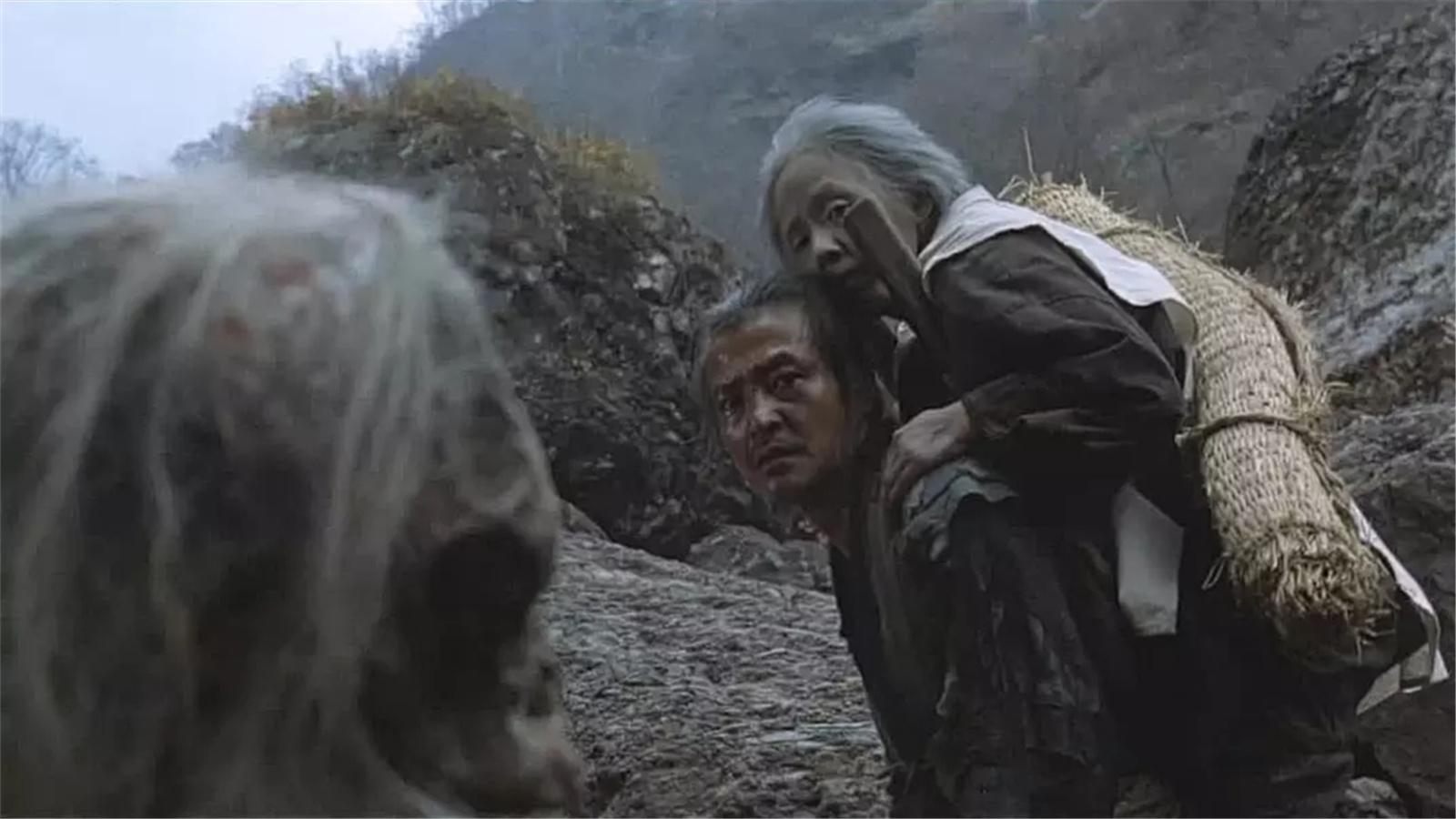 #经典看电影#这个村的老人活到70岁,要被儿子背上山顶弃养,此时有子不如无