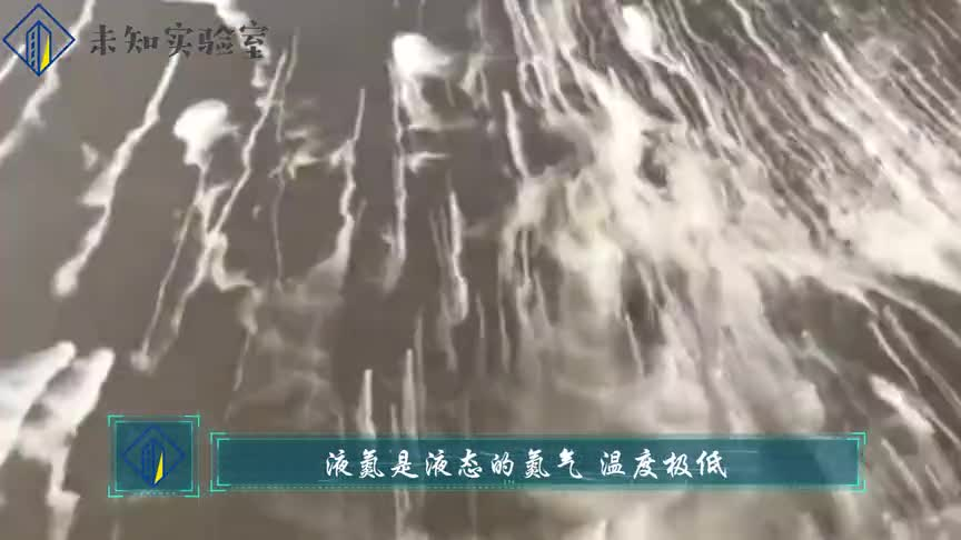 #这个视频666#3升液液氮倒入海洋,老外误打误撞