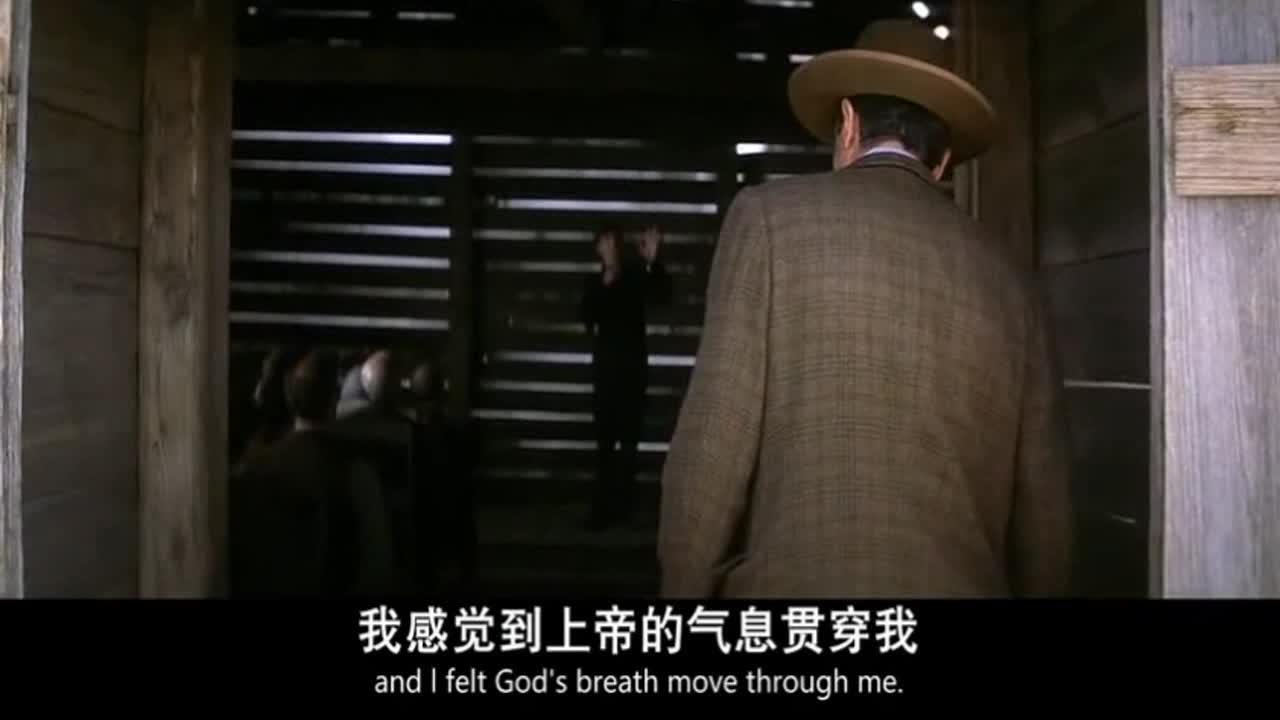 #经典看电影#保罗达诺饰演神棍传教士,为老人驱魔治病的长镜头-《血色将至》