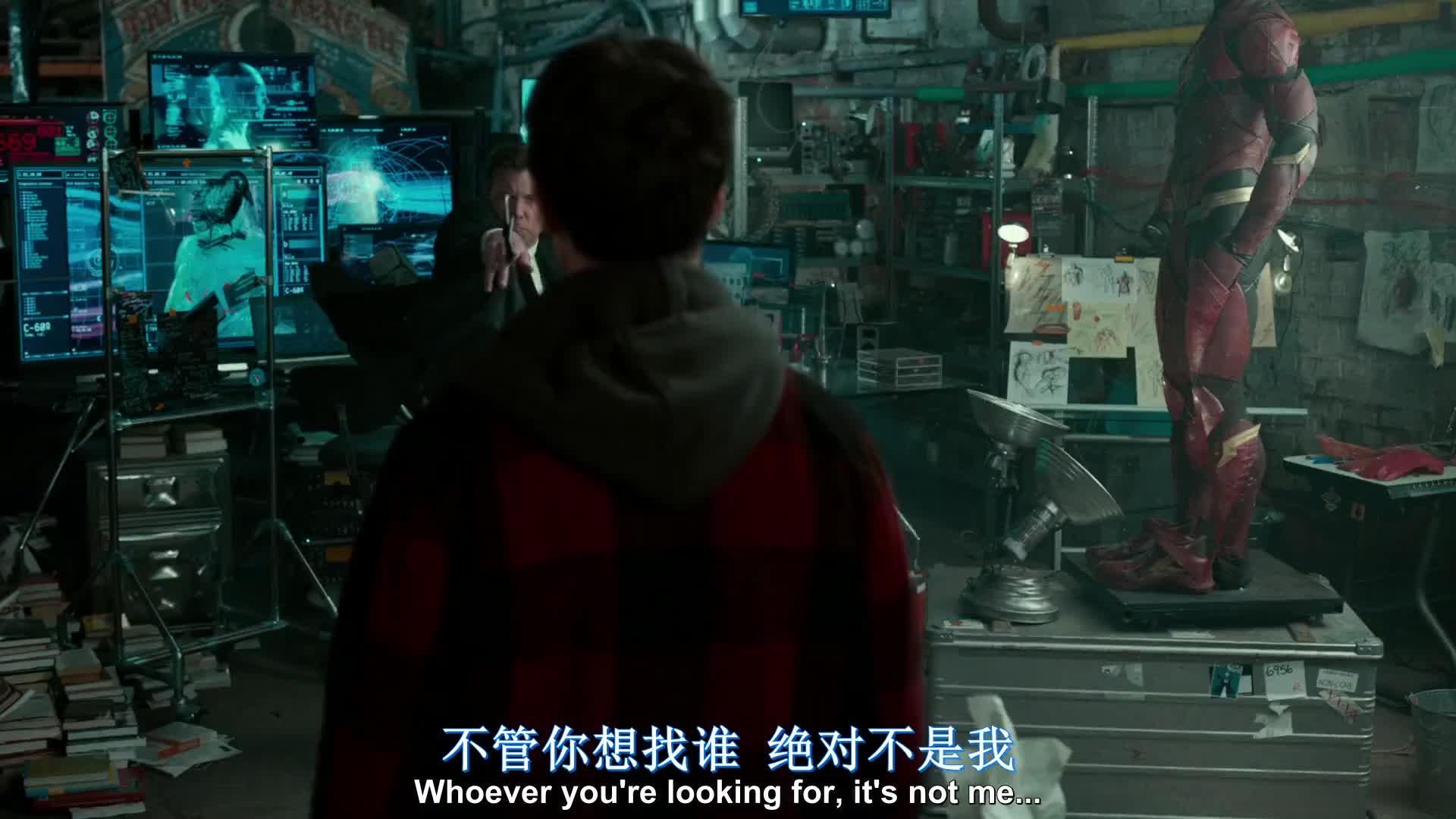 #电影迷的修养#【正义联盟】超人:闪电侠你跑得真慢__01