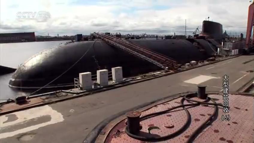 世界上最大的核潜艇被拆解,美苏争霸时前苏联全靠它