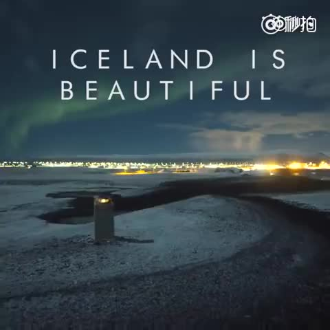 冰岛极光,简直美哭了],有生之年一定要去看一次!!