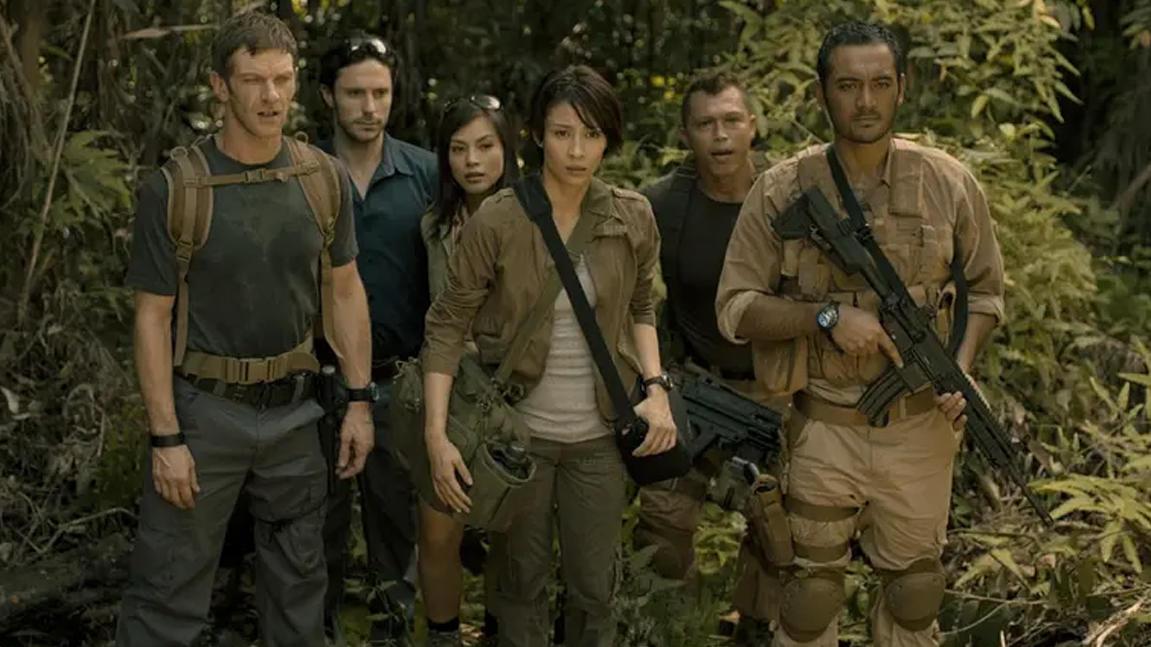 胆小者看的恐怖电影解说:几分钟看完印尼恐怖电影《死亡矿坑》