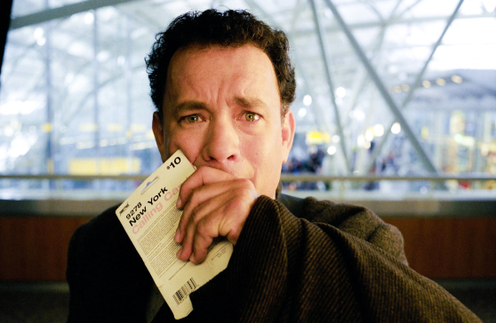 #经典看电影#国家战乱,男子被迫在机场生活9个月,却收获了人生的惊喜