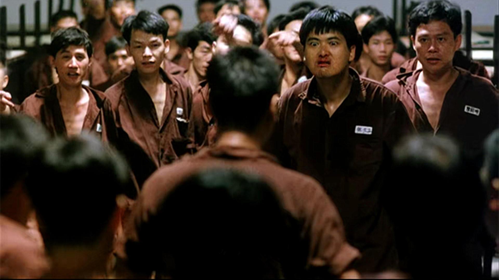 #电影片段#《监狱风云》三十年,这里是香港的监狱,周润发梁朝伟都呆过!