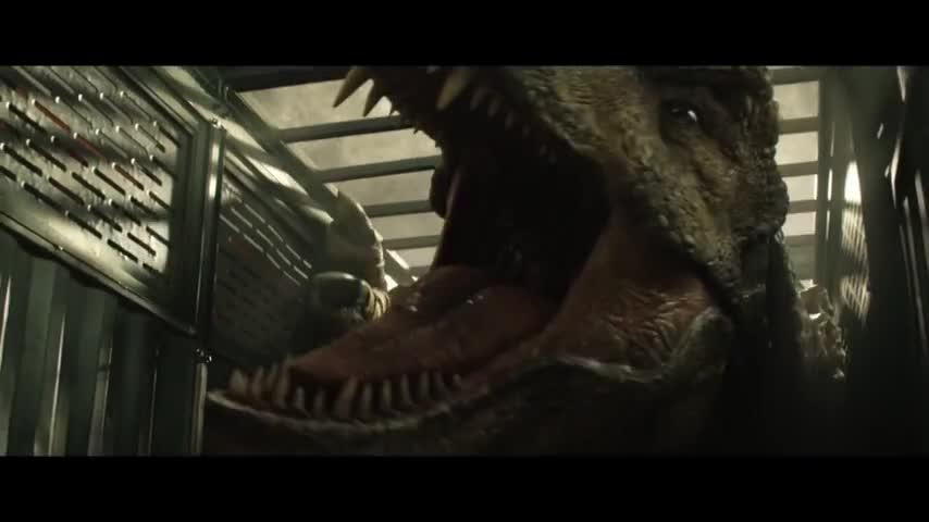 侏罗纪世界2 帕帕叫你买电影票了!这一次,轮到人类拯救恐龙