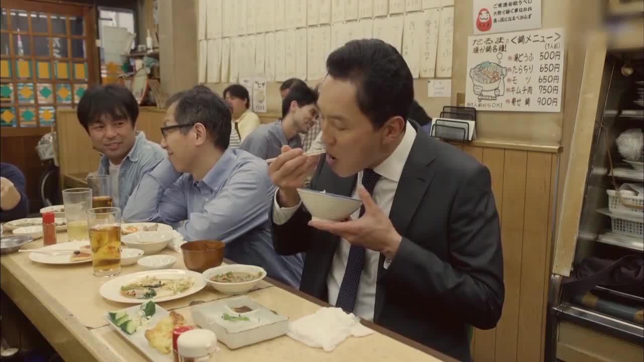 井之头五郎美食家,面包卷蘸酱