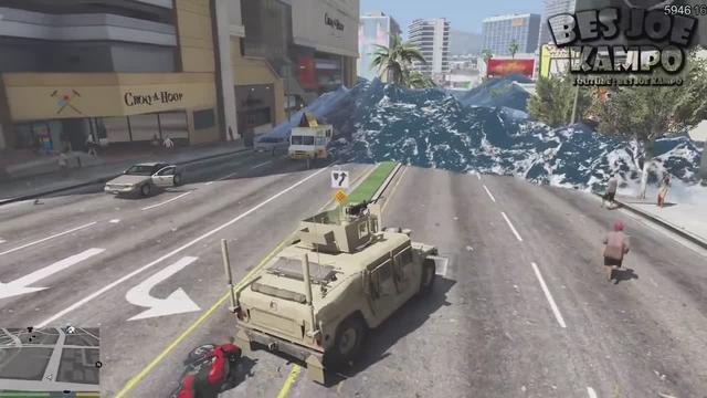 GTA5 海啸袭击洛圣都