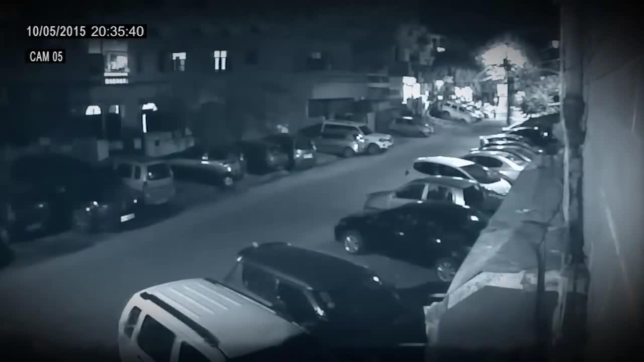 #灵异事件#在停车场拍到最令人毛骨悚然的鬼魂!诡异可怕的超自然现象!