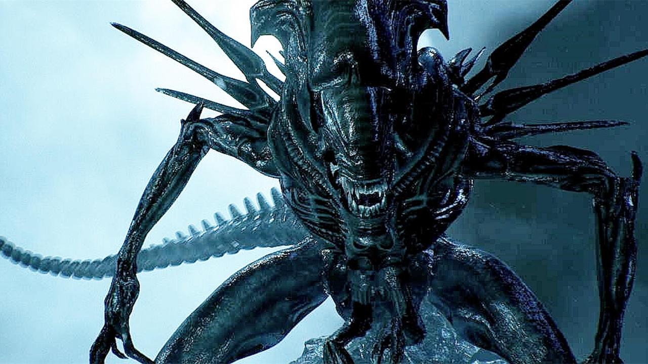7分钟看完恐怖科幻电影《异形》2,异形女皇直接被炸出老巢!