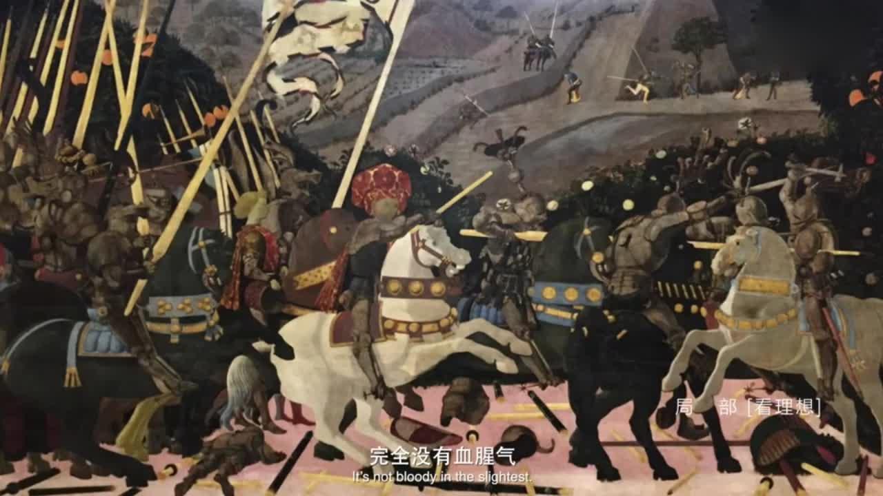这幅画画的战争片,也能如此形象?