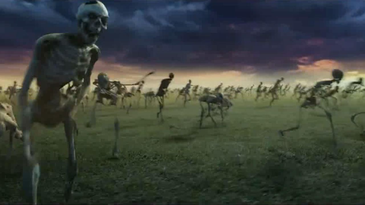 #经典看电影#冥王从地狱逃出后,率领百万骷髅大军,意图征服全世界