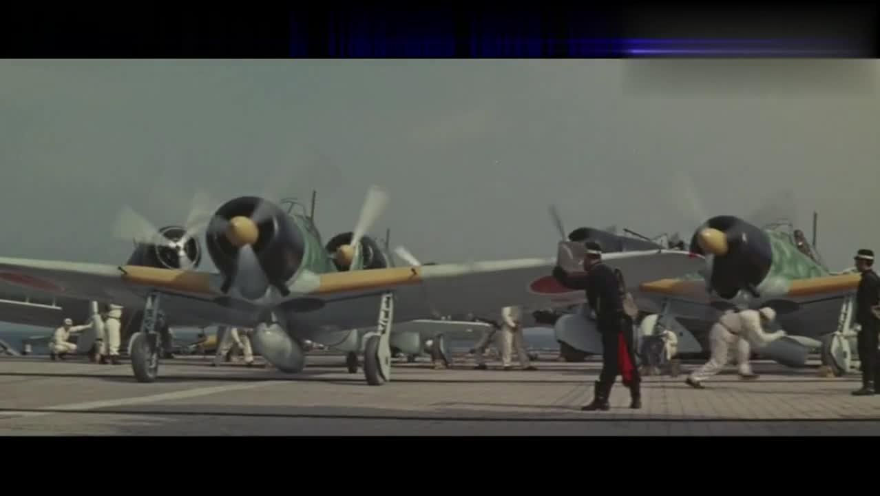 一部精彩写实的二战海战片,美军航母VS日军航母,五分钟定成败