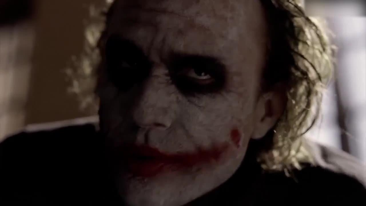 #蝙蝠侠:黑暗骑士#《蝙蝠侠:黑暗骑士》小丑精彩片段