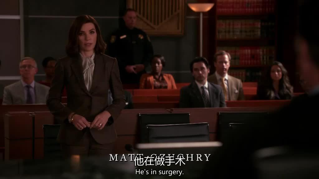 法官直接问了律师几个问题,律师:他现在正在做手术!