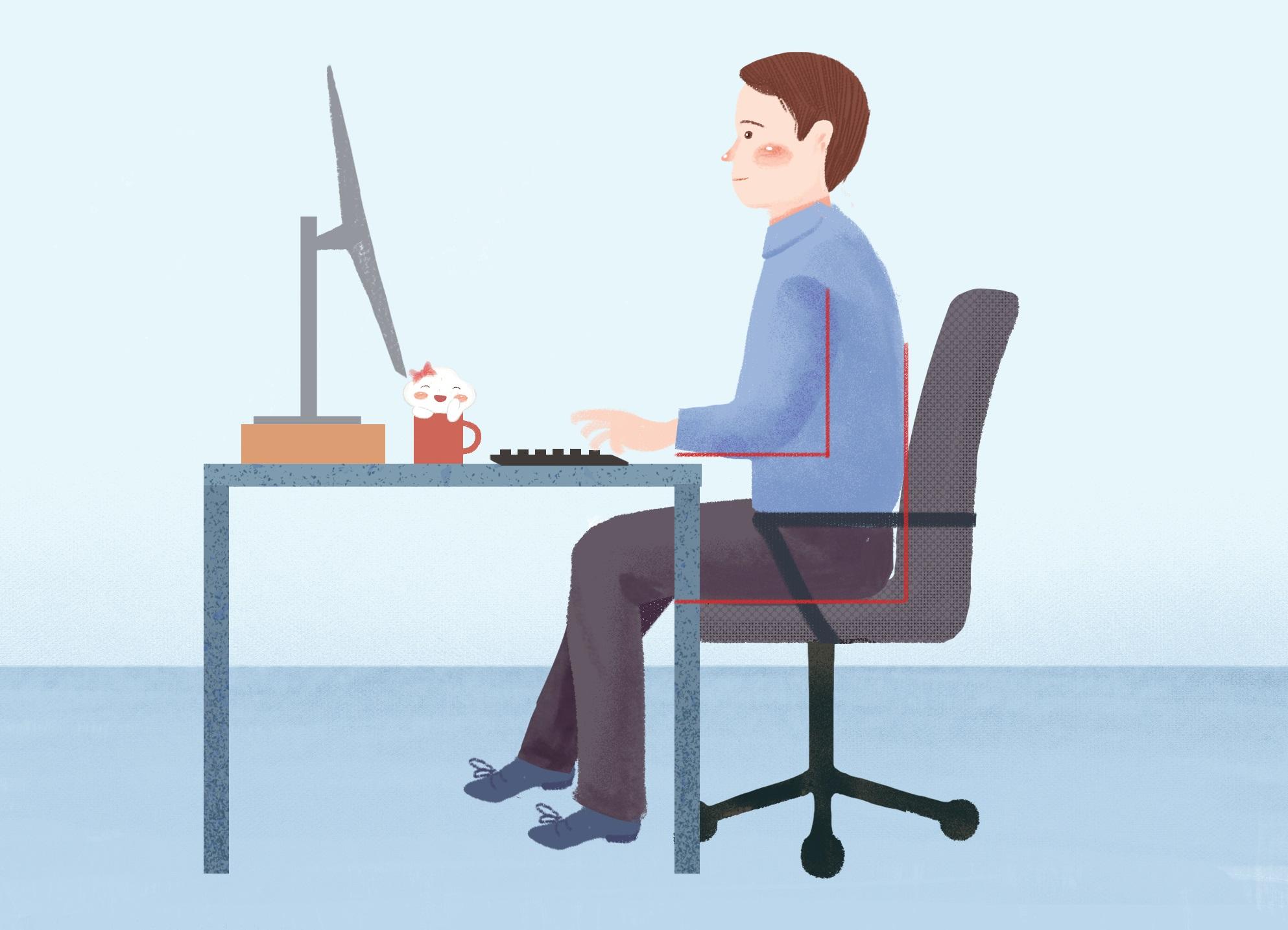 #养生#长时间保持一样的坐姿,为什么也容易患前列腺炎?