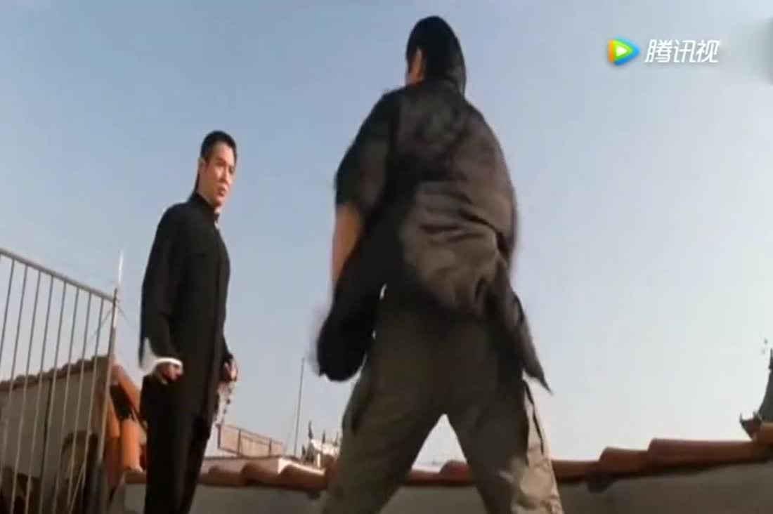 《致命武器4》李连杰展示绝活,果真是杀人技