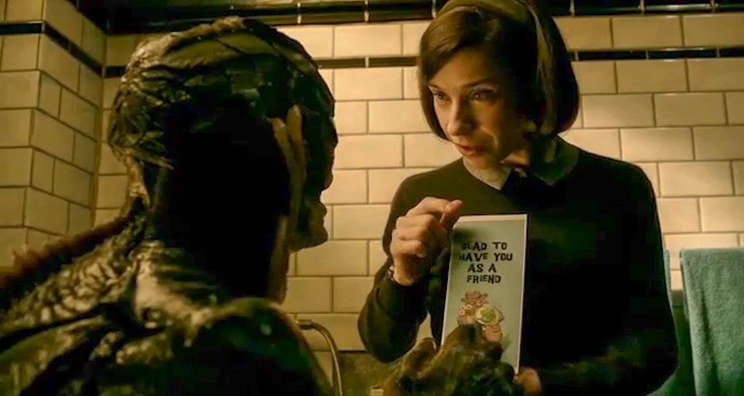 """#羞羞看电影#一个哑女爱上了一个怪物,这是一部打破常规的""""人兽恋""""!"""