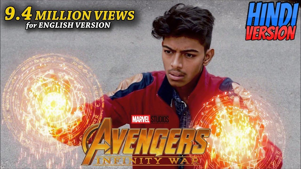 #复仇者联盟:无限战争#印度网友自制恶搞视频《复仇者联盟3:无限战争》