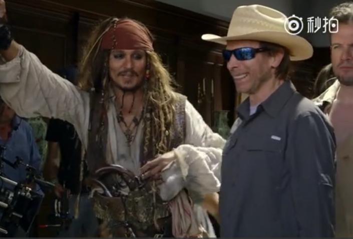 加勒比海盗5:死无对证幕后拍摄花絮 覆盖的场景比较全面