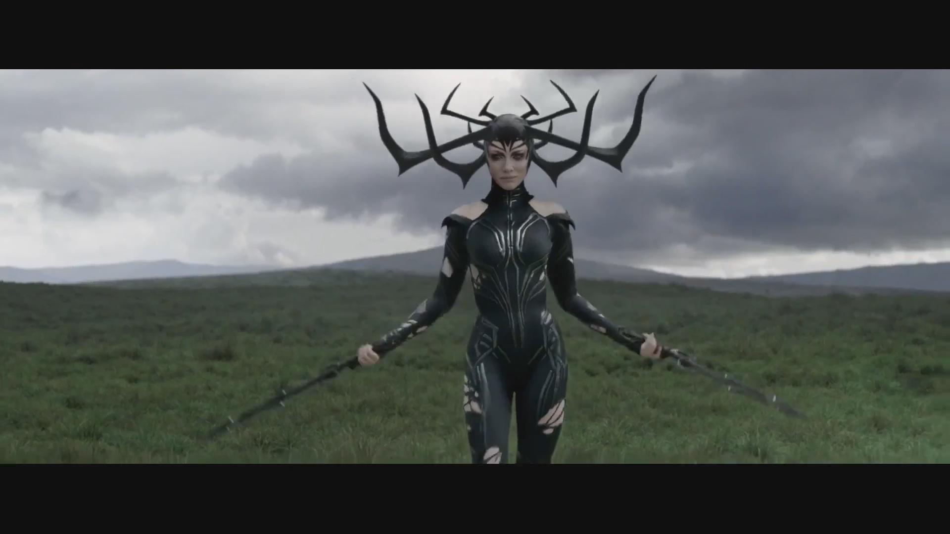 女武神横空飞跃《雷神3:诸神黄昏》最新电视版预告双连发