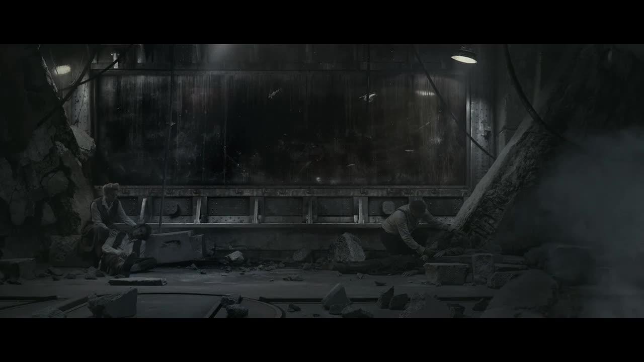 废墟下的月球遗民,真的会和平吗?