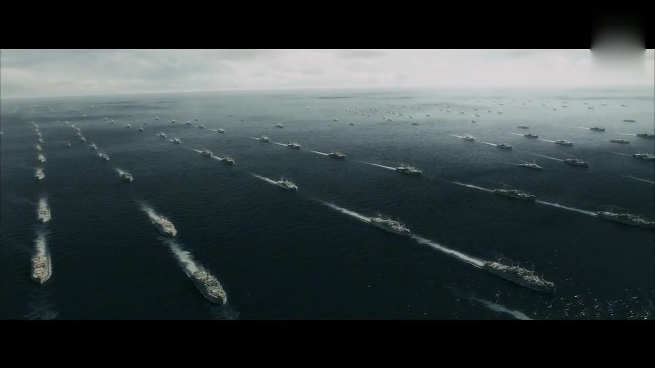 美国40年代的舰队都这么牛逼,但小兵的命如蝼蚁,太残酷