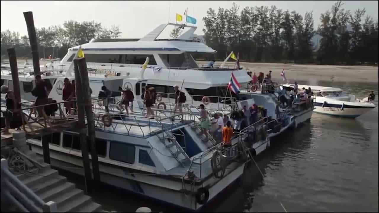 泰国旅行记忆:实拍泰国寺庙见泰国大佛