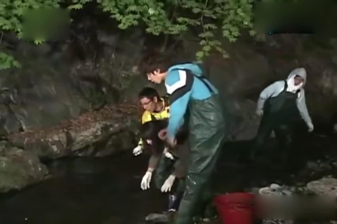 刘在石竟然抓到了鲶鱼,真是太惊喜了?还是纯天然的?
