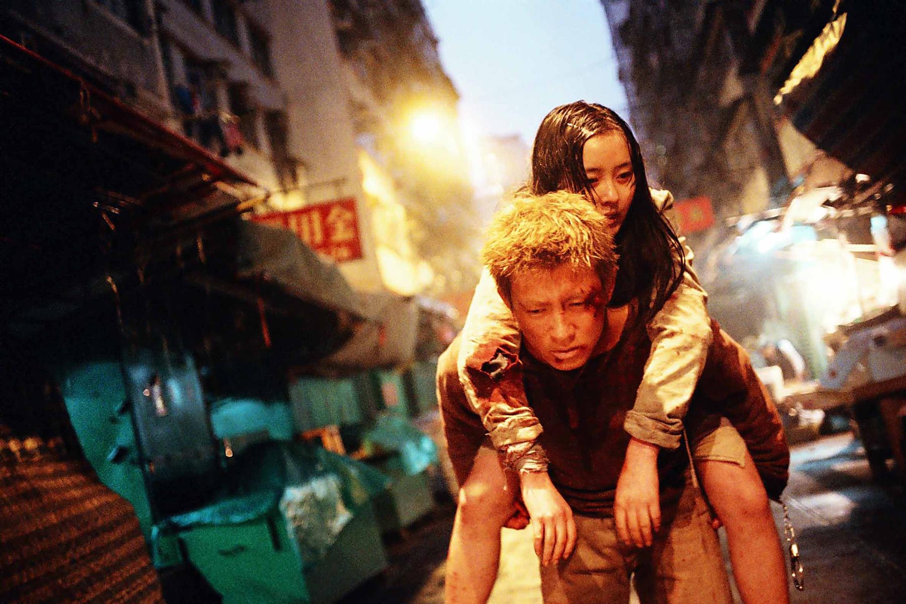 #经典看电影#陈冠希演技巅峰之作, 一个智障少女和杀手亡命天涯的故事