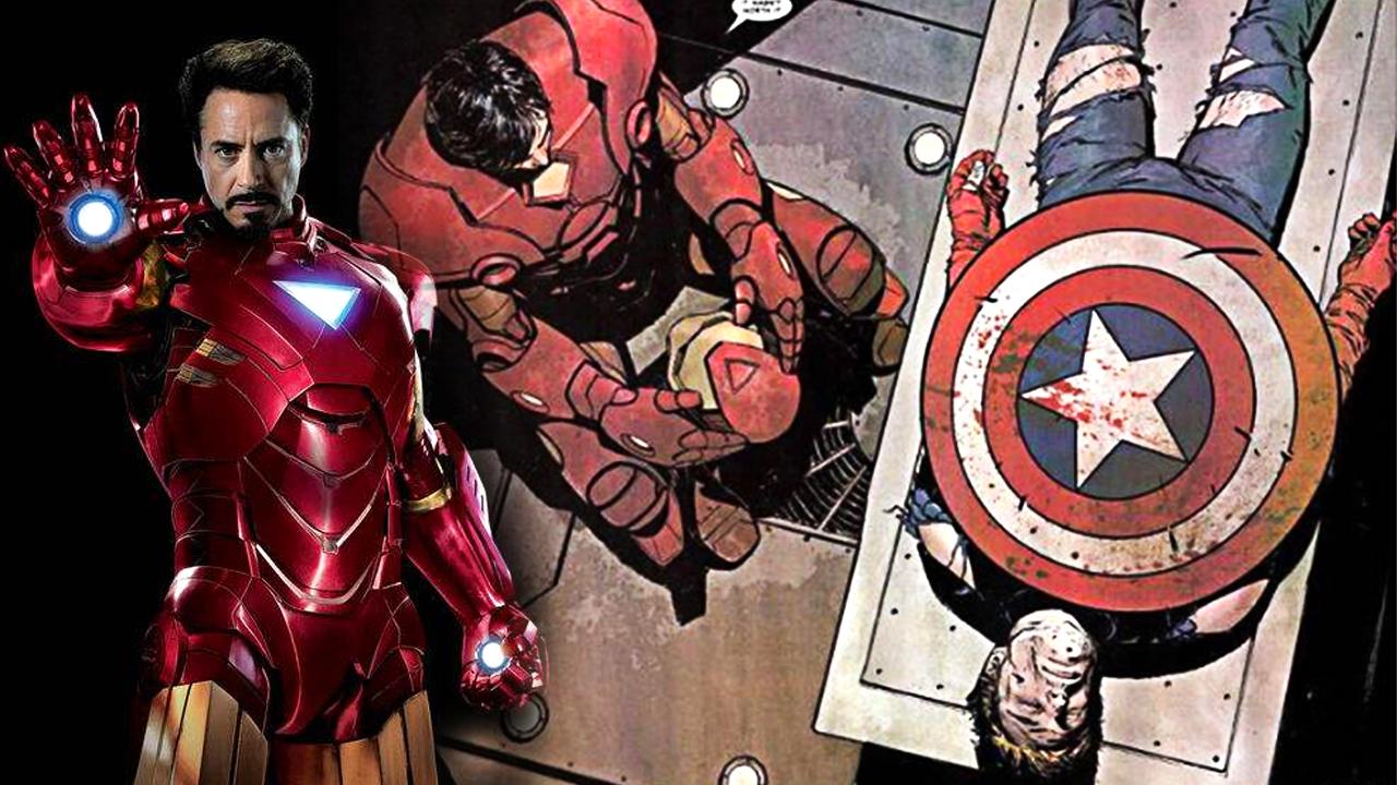#经典看电影#钢铁侠想要保护绿巨人,没想到联盟解散了,美队也成为了牺牲品!