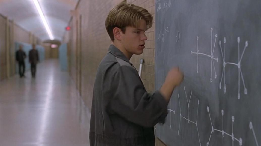 #经典看电影#天才清洁工,1分钟就解出世界级数学难题,教授懵了
