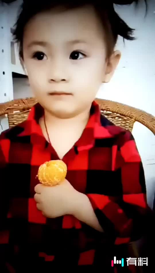橘子吃多了
