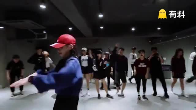 【IM舞室】红唇Sori Na帅气Hiphop编舞Back That Azz Up