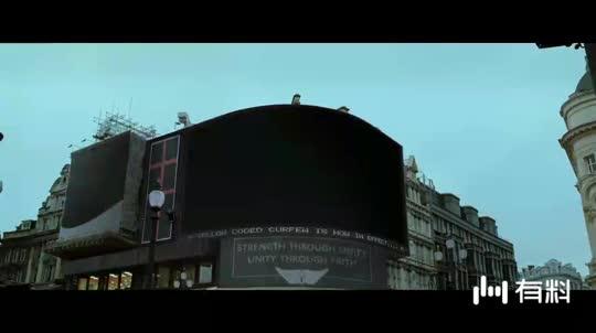 #电影片段#V字仇杀队,这只是电影而已诸位莫当真