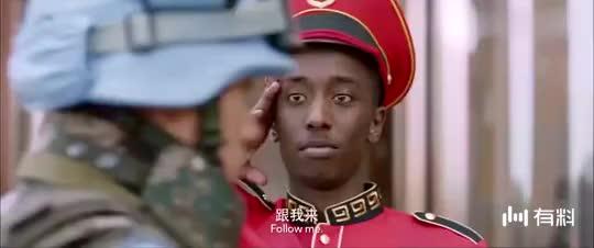 《中国蓝盔》,一部精彩的维和作战题材的电影,彰显中国军队精神