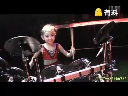 #秒拍#多才艺的小朋友,你们是不是都想有一个这样子的女儿呢?!!!