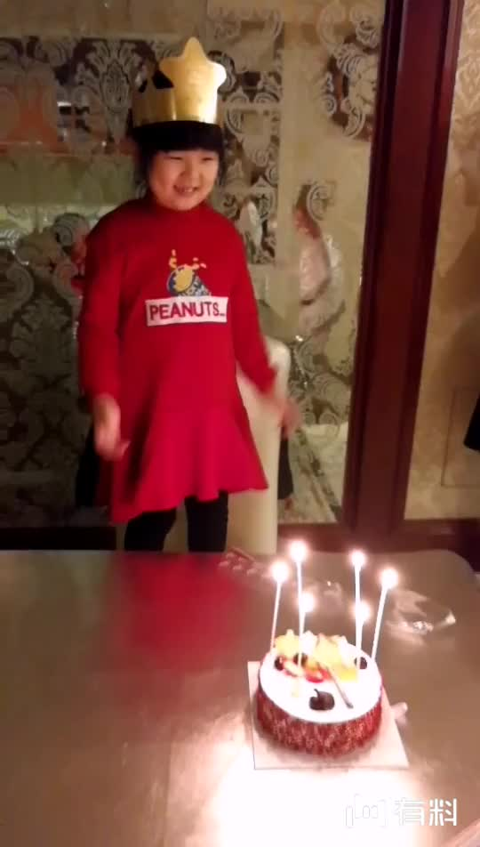 祝宝贝女儿生日快乐。