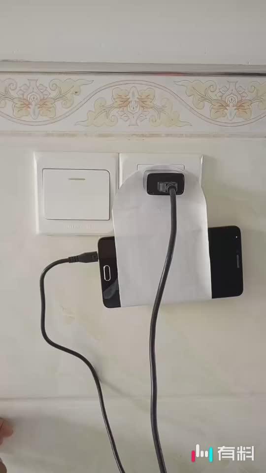 手机线太短不要紧,这样的手机充电方式很省心