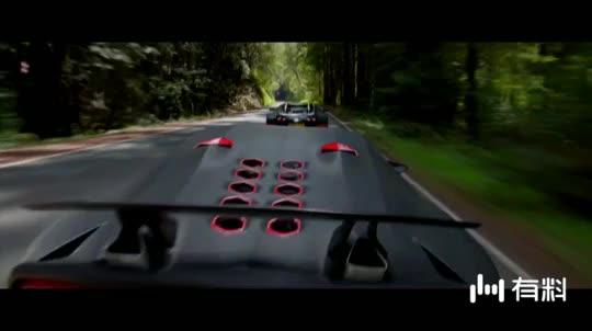#电影片段#《极品飞车》警车时速只有130