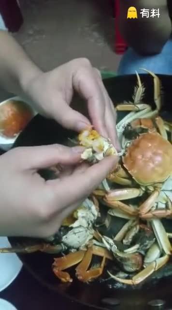 假蟹黄害人